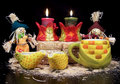 Free Autumn Candle Display Stock Images - 3157404