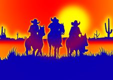 Free Cowboy Illustration Stock Photo - 3150560