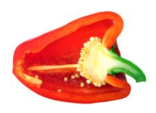 Free Piece Of Red Pepper Isolated Royalty Free Stock Photos - 3151638