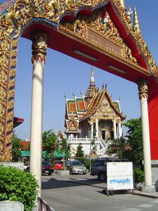Free Bangkok Temple Stock Photo - 3151760