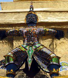 Free Grand Palace Demon Royalty Free Stock Photos - 3152148