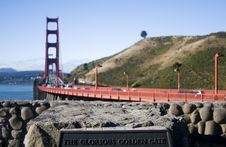 Glorious Golden Gate Stock Photos