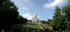 Free Panoramic View Of Sacre Coeur Royalty Free Stock Photography - 3152637