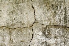 Old Cracked Plaster Wall Royalty Free Stock Image