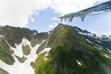 Free Mountains And Clouds In Alaska Royalty Free Stock Photos - 3153008