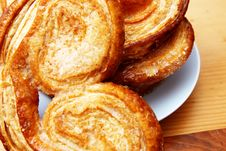Free Palmier Pastries Stock Photography - 3153882