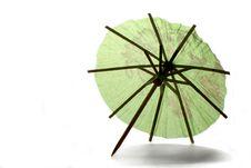 Free Backlit Paper Umbrella Stock Photo - 3153980