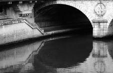 Free Bridge In Paris Stock Image - 3154061