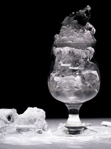 Free Glass With Ice Stock Photo - 3154140