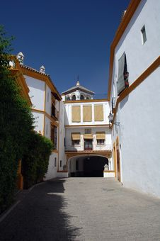 Spanish Villa In Modern Style Stock Photography
