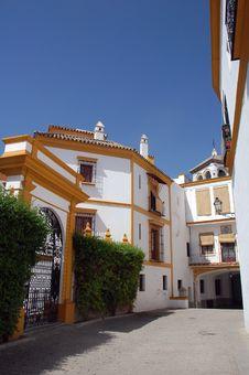 Spanish Villa In Modern Style Royalty Free Stock Photo