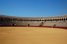 Free Beautiful Bullfight Arena In S Royalty Free Stock Photos - 3154438