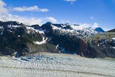 Free Glacier In Skagway Alaska Stock Image - 3154861