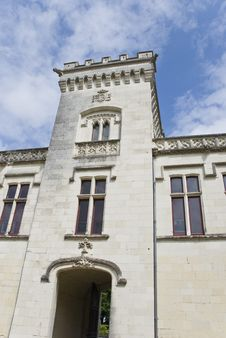 Free Chateau Brézé Front Tower Royalty Free Stock Photography - 3154967
