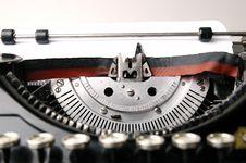 Free Old Typewriter Royalty Free Stock Image - 3154996