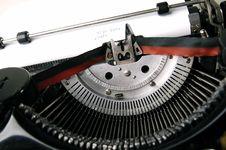 Free Old Typewriter Royalty Free Stock Images - 3155059