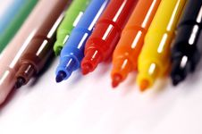 Free Felt-tip Pen Royalty Free Stock Photography - 3155237