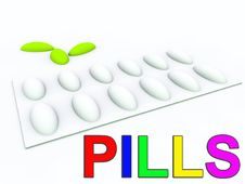 Pills 460 Royalty Free Stock Images