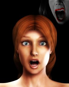 Free Vamp Scare 5 Royalty Free Stock Images - 3155769