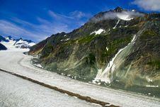 Free Glacier In Skagway Alaska Stock Image - 3156361