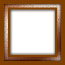 Free Frame With Goldborder Royalty Free Stock Photography - 3157647