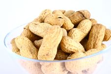 Free Some Peanuts Over Royalty Free Stock Photography - 3158287