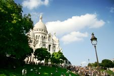 Free Sacre-Coeur Church In Paris Stock Photo - 3158580