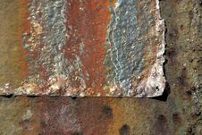 Colorfully Weather-beaten Rust