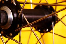 Free Hub Of Front Wheel Royalty Free Stock Photography - 3159147