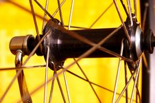Free Hub Of Front Wheel Royalty Free Stock Images - 3159189