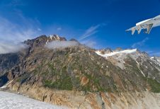 Free Glacier In Skagway Alaska Royalty Free Stock Image - 3159656