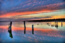 Free Evening Lake Royalty Free Stock Image - 3159676