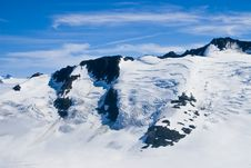 Free Mountains And Snow In Alaska Stock Image - 3159921