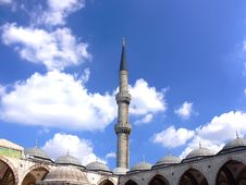 Free Blue Mosque Royalty Free Stock Photos - 3159948