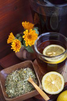 Free Tea With Lemon Stock Photos - 31502003