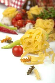 Free Pasta Ingredients Stock Images - 31503094