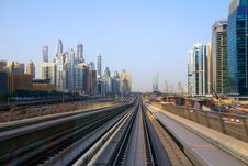 Free The UAE. Dubai. Subway. Royalty Free Stock Images - 31506489