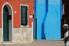 Free Colourful Houses, Burano, Venice Stock Photos - 31507243
