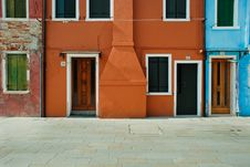 Free Colourful Houses, Burano, Venice Royalty Free Stock Photography - 31507257