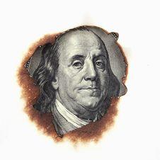 Free Burning Dollar Bill Royalty Free Stock Photography - 31508887