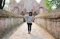 Free Asian Woman At Wat Maheyong, Buddhist Temple In Ayutthaya Provin Stock Images - 31513224