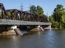 Free Metal Steel Bridge Stock Image - 31510471