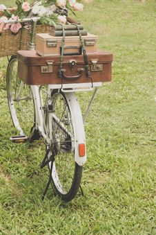 Free Vintage Bicycle Stock Photography - 31518192