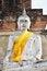Free Ancient Buddha Statues At Wat Yai Chai Mongkol In Ayutthaya Stock Photos - 31513133