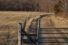 Free Farm Gates Royalty Free Stock Image - 31524506