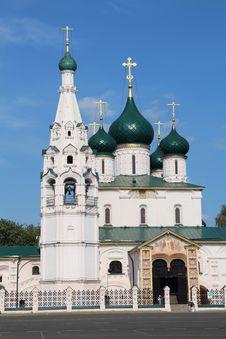 Free Iliya The Prophet S Church In Yaroslavl. Russia Royalty Free Stock Photography - 31526517
