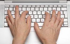 Free Keypad A Laptop Royalty Free Stock Photos - 31526578