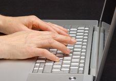 Free Keypad A Laptop Stock Image - 31526621