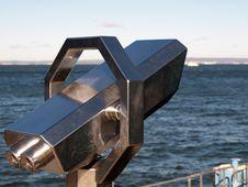 Free Telescope By The Sea Stock Photo - 31528650