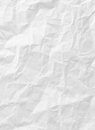 Free White Crumpled Paper Texture Royalty Free Stock Image - 31535326